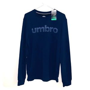 NWT Blue Umbro sweatshirt